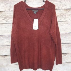 French Connection V Neck Jumper Sweater
